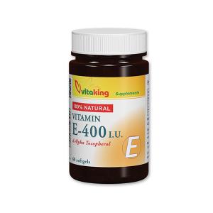 Vitaking Természetes E-400 vitamin gélkapszula 60x
