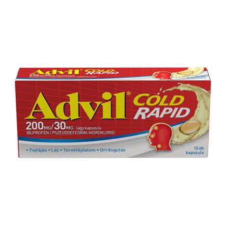 advil cold rapid 10x