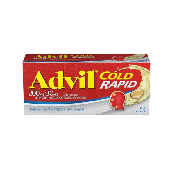 advil cold rapid 20x