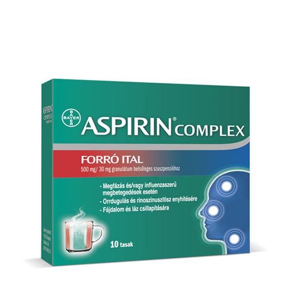 aspirin complex forró ital