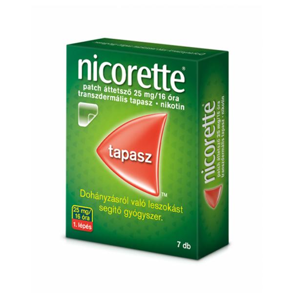 nicorette patch 25mg