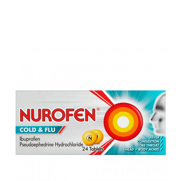 nurofen cold and flu 24x